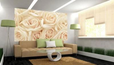 фотообои розы светло розовые
