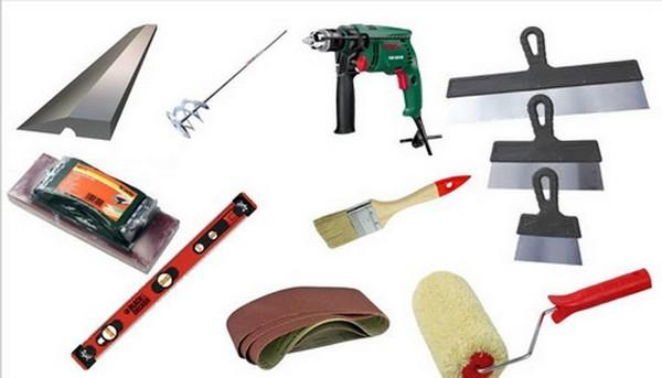 Для проведения работ нужно вооружиться набором необходимых инструментов