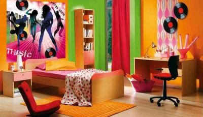 Фотообои для подростковой комнаты