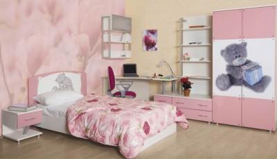 Фотообои для подростковой комнаты девушки розы