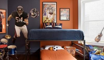 Фотообои для подростковой комнаты футболист