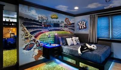 Фотообои для подростковой комнаты мальчика стадион