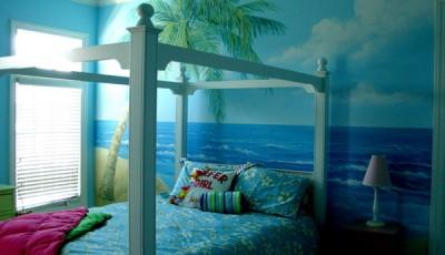 Фотообои для подростковой комнаты море океан