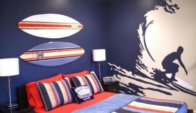 Фотообои для подростковой комнаты серфинг