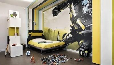 Фотообои для подростковой комнаты трансформеры