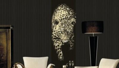Фотообои с животными для стен пантера