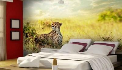 Фотообои с животными гепард