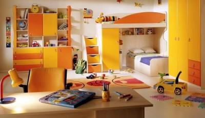 Обои в детскую комнату для разнополых детей с бабочками