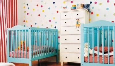 Обои в детскую комнату для разнополых маленьких детей