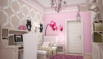 Современные розовые обои