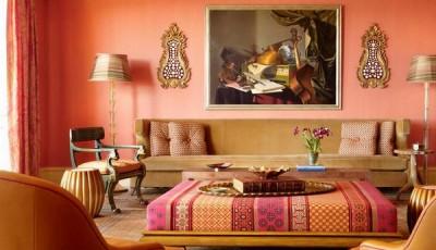 Современные розовые обои для интерьера