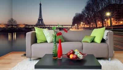 Угловые фотообои Париж