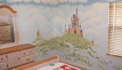Угловые фотообои на две стены детские