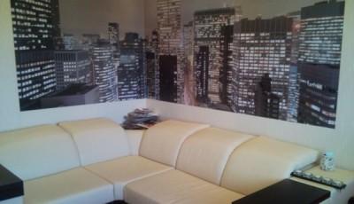 Угловые фотообои на две стены мегаполис