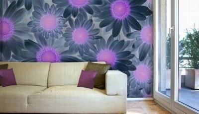 абстрактные обои цветы