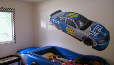 фотообои машинки на стену детской