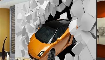 фотообои машины на стену ламборгини