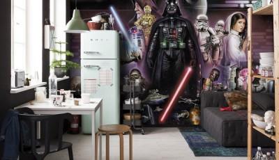 Фотообои Звездные войны герои саги