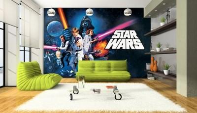 Фотообои Звездные войны с гостиной