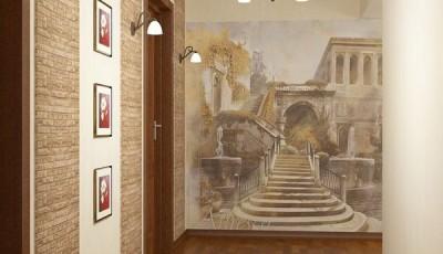 Фотообои для интерьера коридора