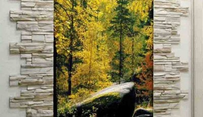 Фотообои для коридора лес