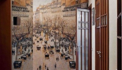 Фотообои для коридора с зеркалом