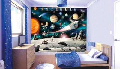 Фотообои космос детские