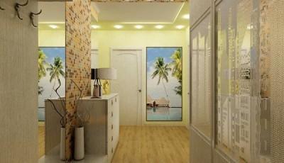 Фотообои в коридор пальмы