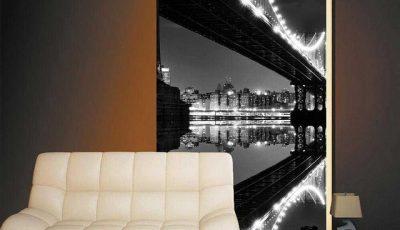 Фотообои Бруклинский мост узкие