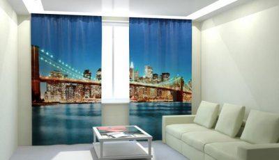 Фотообои Бруклинский подвестной мост двойные
