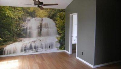 Фотообои водопад на всю стену
