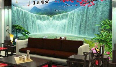 Фотообои водопад в восточном стиле