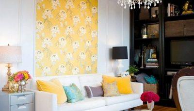Зонирование однокомнатной квартиры обоями - Стройка