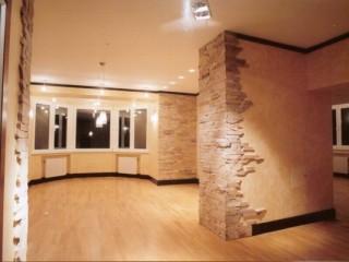 Комбинированные обои в зал: варианты дизайна