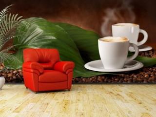 Фотообои с кофе
