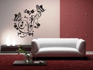 Бабочки на стене: декор своими руками