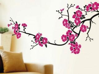 Декоративные наклейки на стены: как преобразить интерьер