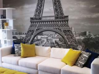 Фотообои Париж: романтический интерьер