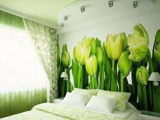 Фотообои с тюльпанами