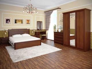 Классические обои для спальни