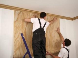 Что вначале обои или натяжной потолок