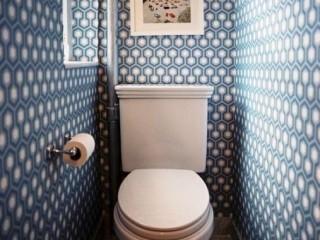 Обои для туалета: какие выбрать