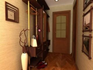 Обои песочного цвета: оптимальный вариант для коридора