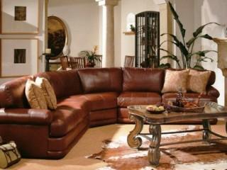 Коричневая мебель: какие обои выбрать, фото