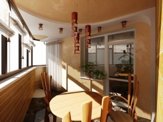 Обои для отделки балкона и лоджии: ответы на частые вопросы