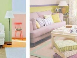 Обои пастельных цветов в оформлении квартиры
