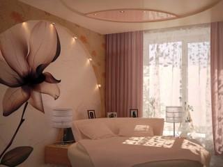 Рисунок на стену в спальню