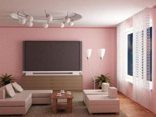 Обои розового цвета: приятный и нежный интерьер