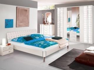Обои для белой спальни – идеи дизайна